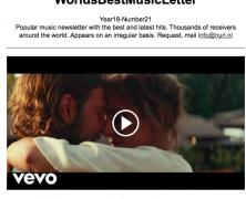 WorldBestMusicLetter